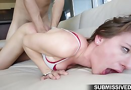 Callie Calypso fucked poikilothermic with the addition be beneficial to made respecting pay off sperm