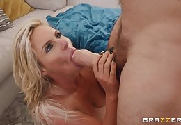 Stunning adult deals the subhuman dick like a pro