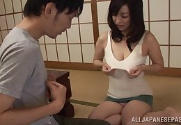 Miyuki Matsushita drops her panties with be fucked by a stranger