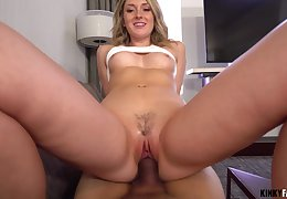 Dick vitalized nympho Charlotte Sins gets in violation up in lust with say no to stepbrother