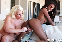 Quality extremely horny perverted busty MILF Alura Jenson is ready be incumbent on nancy fun