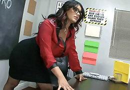 Angelina's footjob conglomeration